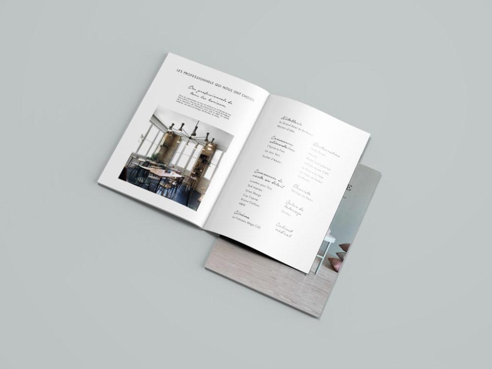 graphisme brochure